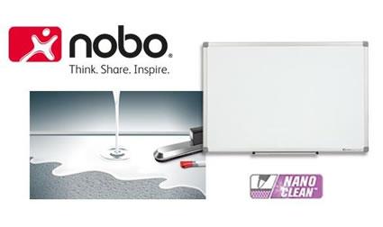 Najłatwiejsze w czyszczeniu tablice - Nobo Nano Clean
